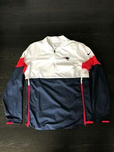 Nike New England Patriots Team Issued Lightweight Coaches Jacket
