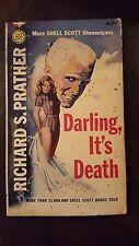 """Richard Prather, """"Darling, It's Death,"""" 1963, Gold Medal k1279, G+,"""