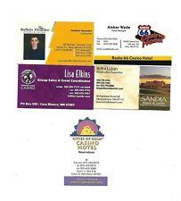 5 New Mexico   Casino  Business Cards