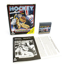 Hockey for Atari Lynx by Atari Corporation, 1992, Sports, Boxed