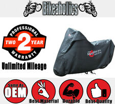 JMP Bike Cover 1000CC + Black for Harley Davidson FLHTC
