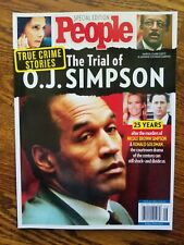 PEOPLE SPECIAL EDITION ~ TRUE CRIME STORIES ~ THE TRIAL OF O.J. SIMPSON