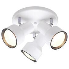 Westinghouse 66326 3-Light Multi-Directional Flush-Mount Ceiling Fixture, White