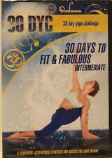 New 30 Dyc day yoga challenge Intermediate fit fab workout fitness exercise Dvd