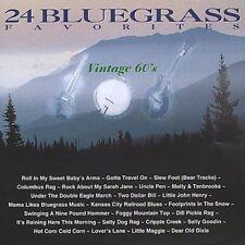 NEW 24 Bluegrass Favorites: Vintage 60's (Audio CD)