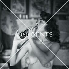 1950s Nude Vogel 2 1/4 Negative Bonnie Logan busty pinup girl EXTREMELY RARE!!-3