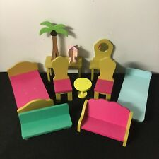 Wooden Furniture For Small Barbie Bratz Monster High Size Dolls