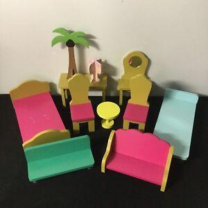Kidkraft Wooden Doll House Furniture