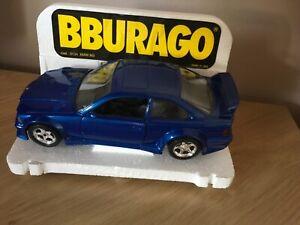 Burago 1/24BMW 3 SERIES COUPE Die Cast Model - Blue -