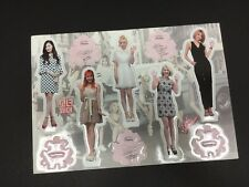 Kpop SNSD Girls Generation High Quality Official Photo Standing Paper Figure