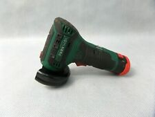 Parkside PWSA12 Cordless Mini Angle Grinder 12v Battery Power Used Condition