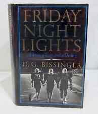 FRIDAY NIGHT LIGHTS by H.G. BISSINGER HCDJ - 1ST EDITION / 1ST PRINT - FOOTBALL