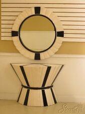 LF30061EC: Mid Century Modern Design Marble Console Table & Mirror