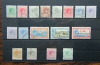 Bahamas 1938 - 52 set to £1 Used 2.5d 3d MM