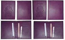 Lot of 6. New Canadian Leather passport cover. Wallet. Canada Passport case. BN