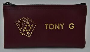 Personalized Card Players Money Bag Poker Chip Purse Gamblers Casino Wallet