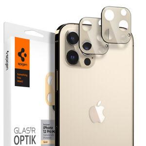 For iPhone 12 12 Pro 12 Pro Max 12 Mini | Spigen® [tR Optik] Camera Cover