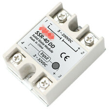 Solid state relay SSR-10DD 25 40 60 80100DD Input 3-32V DC Output 5~200VDC