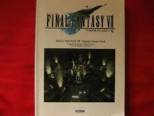 Final Fantasy VII 7 Soundtrack Piano Sheet Music Book