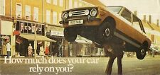 Toyota 1976-77 UK Market Foldout Brochure Crown 2000 Celica Corolla Carina 1000