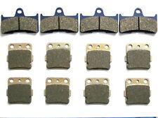 12 Front Rear Brake Pads For Yamaha Grizzly YFM660 YFM 660 Sintered Brakes
