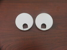"2-1/2"" White Computer Wire Grommets (Pack of 2) Free Shipping"
