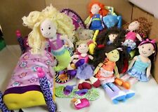 LOT  OF  GROOVY  GIRLS, DOLLS, , TENT,  SALON, CHAIR, OTTOMAN,  BED,  ETC