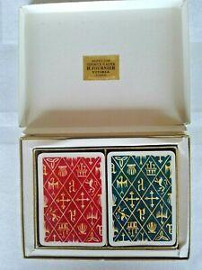 1951 Vintage Fournier Playing Cards Bridge, Spain