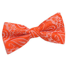 DQT Mens Bow Tie Solid Plain Plaid Check Patterned Floral Paisley Polka Dot