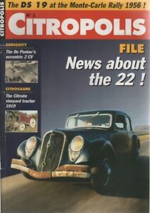(IN ENGLISH) CITROPOLIS 1 MYSTERY OF THE 22 TOY ELECTRIC TRACTION DE PONTAC 2CV