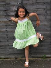 Girls Tie String Printed Summer Dress 6-7yrs