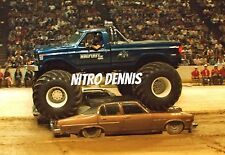 BIGFOOT 4x4 FORD Photo 8x10 Original MONSTER Truck CRUSHER from the 1980's  NHRA