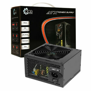 ACE 850W PC Power Supply 120mm Black Fan PFC 6+2 Pin PCI-E 4+4 Pin CPU connector