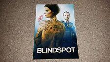 "BLINDSPOT PP SIGNED 12""X8"" A4 PHOTO POSTER TV SERIES JAMIE ALEXANDER"