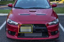 Mitsubishi Lancer Evolution License Plate Mounting Bracket Front Bumper Tow Hook