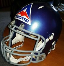 MONTREAL ALOUETTES CFL FOOTBALL 1974 Throwback Riddell Revolution HELMET (Large)