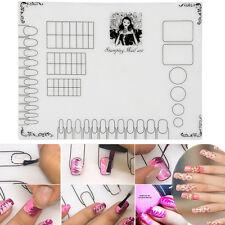 Makeyup Nail Art Soft Silicone Stamping Plate Transfer Mat Sheet Table 40*30cm