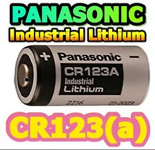 20 x PANASONIC CR123a INDUSTRIAL Lithium Photo Battery 3v CR123 CR17345 QUALITY