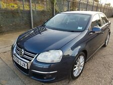 2008 VOLKSWAGEN JETTA SPORT TDI 4 Door Saloon with sat nav