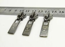 New Metal Zipper Slider Pullers #5 Molded for clothing  repair replace K07