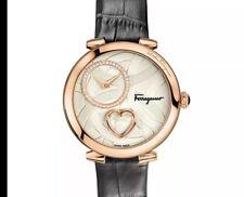 Ladies Salvatore Ferragamo Cuore Diamond Watch FE2050016