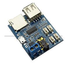 TF card U disk MP3 Format decoder board amplifier decoding audio Player module G