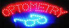 Super Bright Led Neon Light Animated Optometry Eye Glasses Business Sign B21