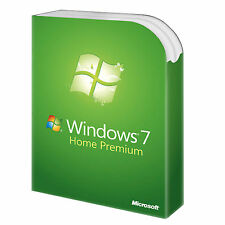WINDOWS WIN 7 HOME PREMIUM 32/64 BITS KEY/CLAVE - LICENCIA 100% ORIGINAL