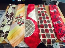 Lot Of 5 Vintage Ties