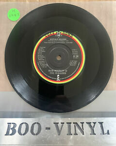 """BOB MARLEY AND THE WAILERS BUFFALO SOLDIER 7"""" VINYL  TUFF GONG IS 108 1983 EX"""