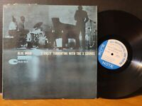 STANLEY TURRENTINE WITH THE THREE SOUNDS - Blue Hour Blue Note 1962 Mono RVG LP!