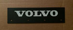 "VOLVO Trucks Black & White 6"" x 24"" Mud Flap Quarter Fender Flaps Pair"