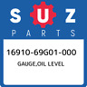 16910-69G01-000 Suzuki Gauge,oil level 1691069G01000, New Genuine OEM Part