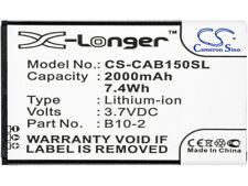 B10-2 Battery for Cat B15 B15Q B15Q Am 2000mAh/7.4Wh Li-ion 3.70V New